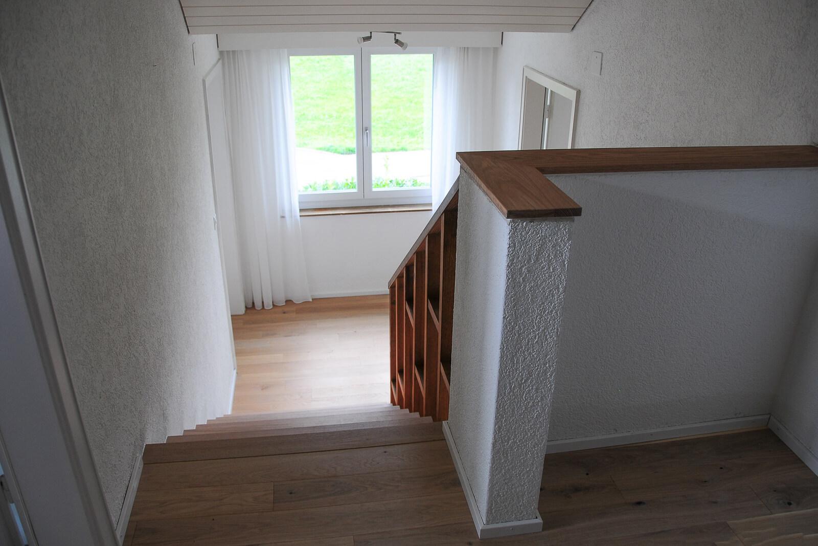 Treppe und Innenausbau